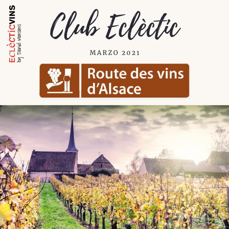 Club de vinos Eclectic Alsacia