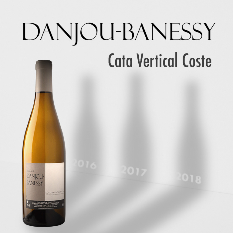 Selección vinos Danjou Banessy vertical
