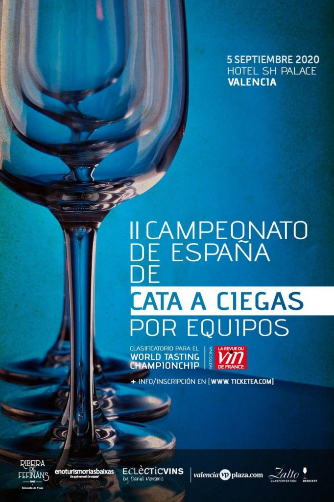 Campeonato España Cata a Ciegas por Equipos