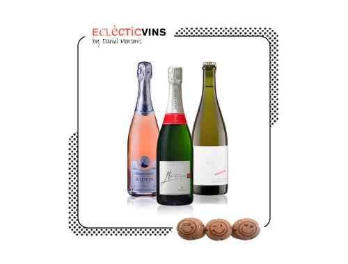 Selección Julio Burbujas champagne cremant ancestral